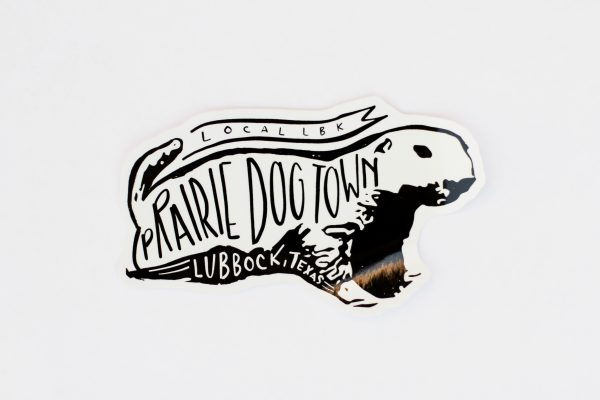 Prairie Dog Town Vinyl Decal